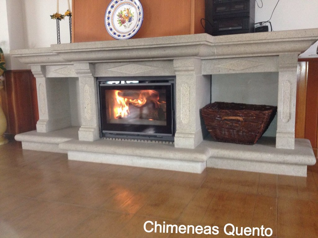 Insert carbel c 60 en chimenea showroom - Chimeneas quento ...