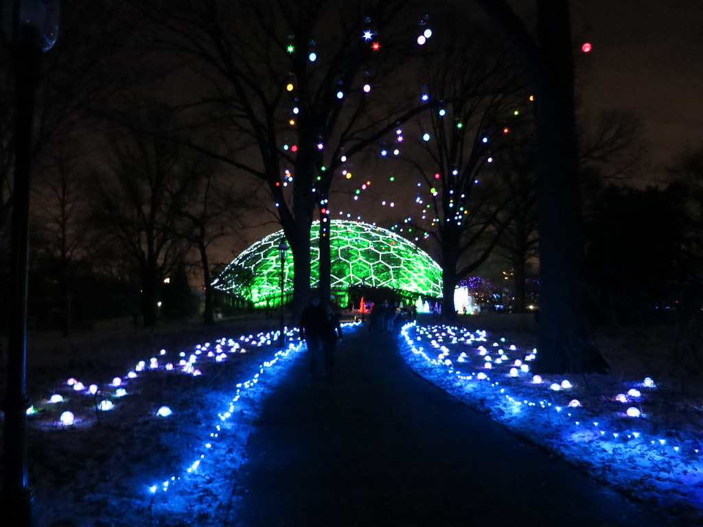 Garden Glow Missouri Botanical Gardens St Louis Missour Chris Yunker Flickr