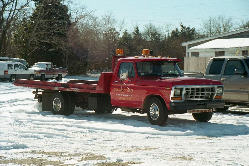 70s ford tow truck canon eos rebel 2000 tamron ld kodak go benjamin bartolini flickr. Black Bedroom Furniture Sets. Home Design Ideas