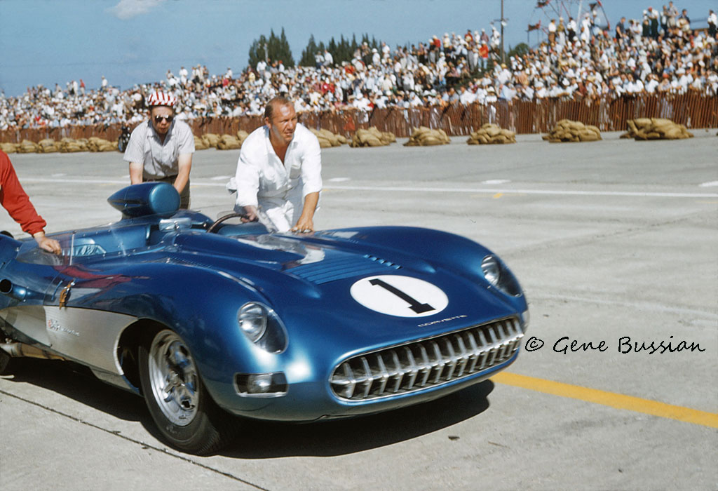 Corvette SS at Sebring 1957 | The 1957 race would be the ...