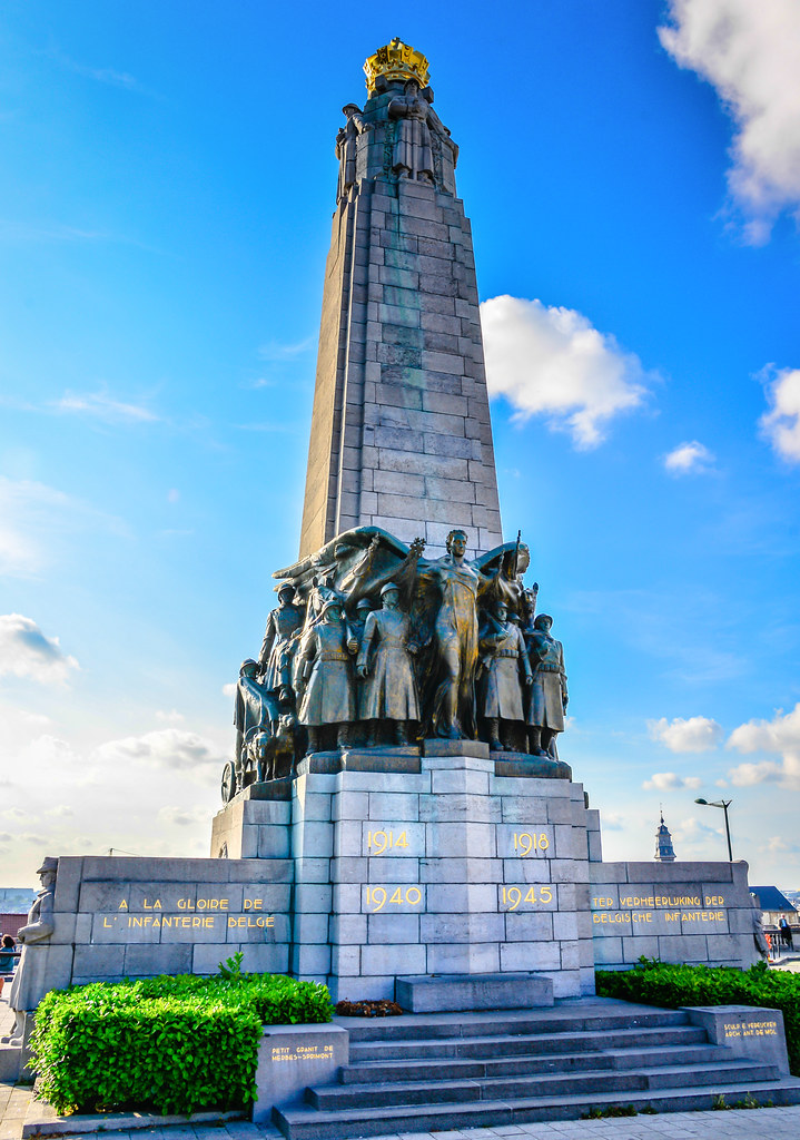 Monument to the Belgian Infantry - Brussels Belgium | Flickr
