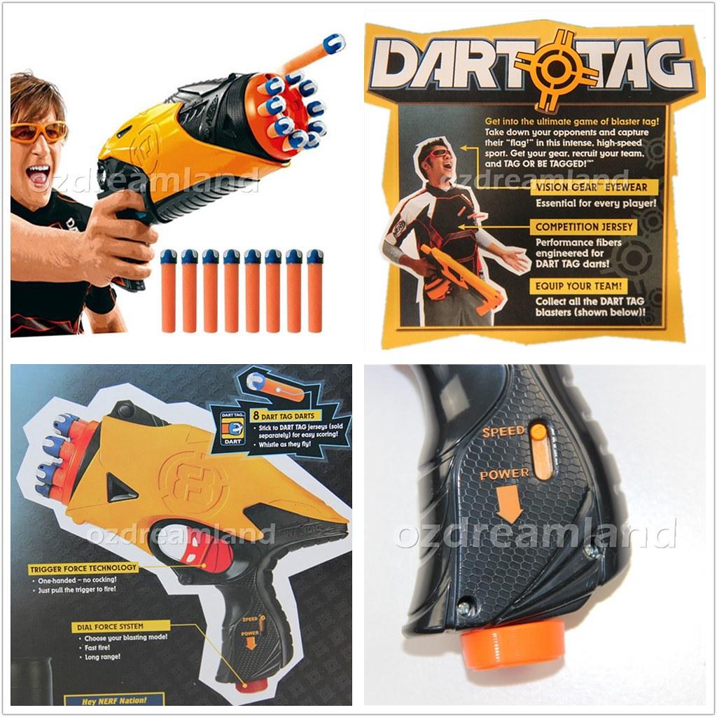 Hasbro Nerf Dart Tag Snapfire 8 Child Shooting Play Set