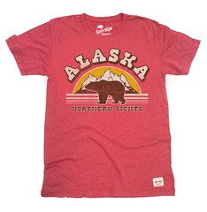 Sportiqe Alaska Northern Sights T-Shirt