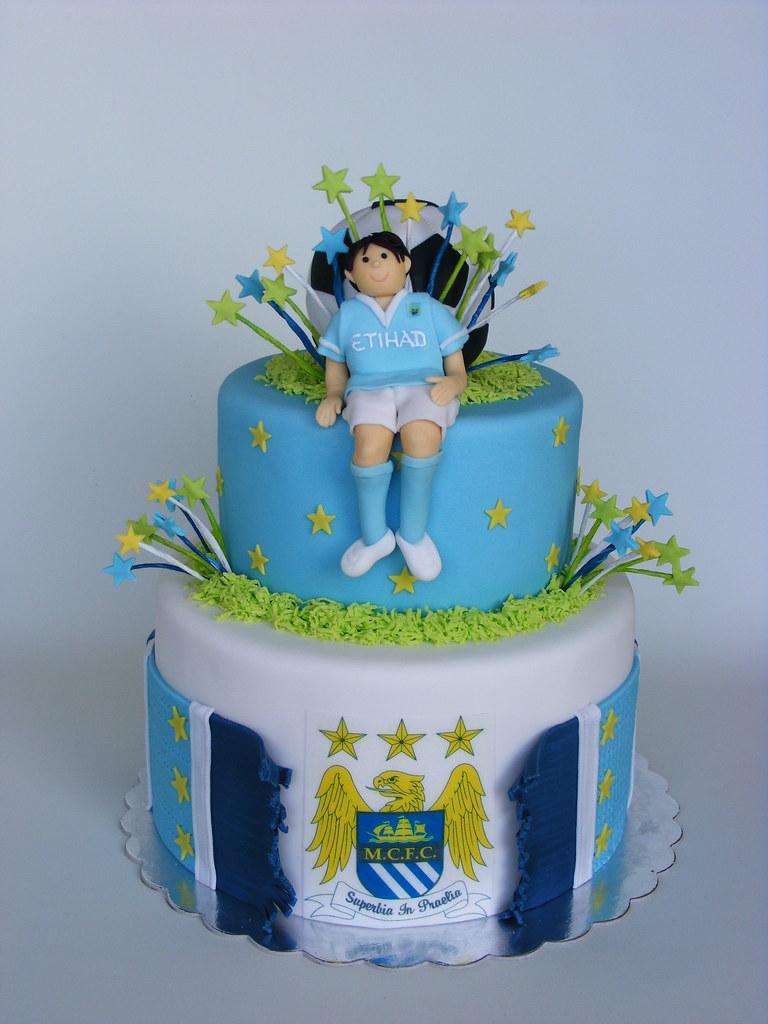 Manchester City Birthday Cake