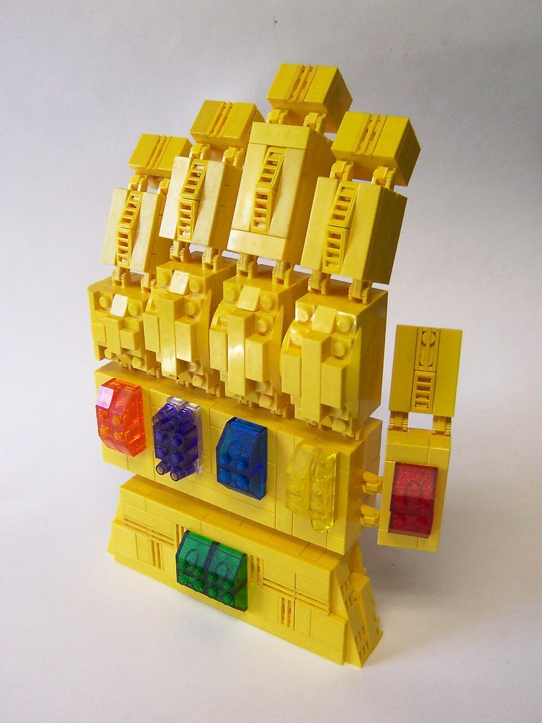 The Infinity Gauntlet Now I Am All Powerful And Can