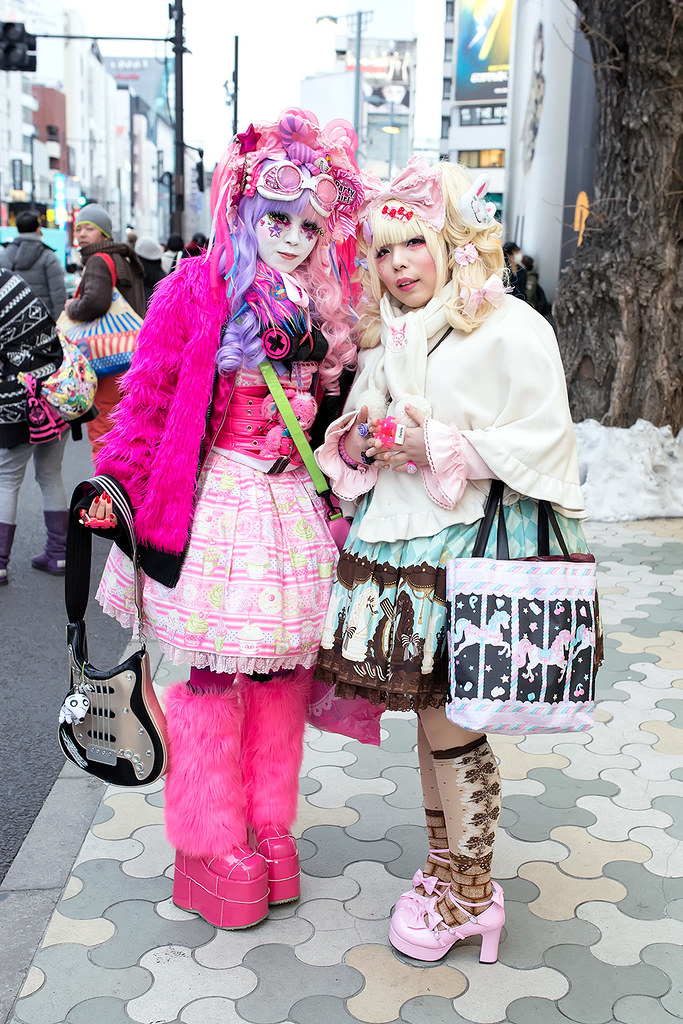 Harajuku Girls Fashion Mekiru Minami On The Street In Ha Flickr