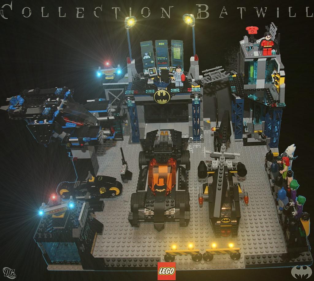 Lego Batman Batcave Custom Batman Lego Batcave Alerte
