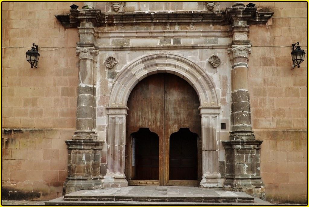 Ex Convento Franciscano Y Parroquia Santa Ana Zacapu Estad