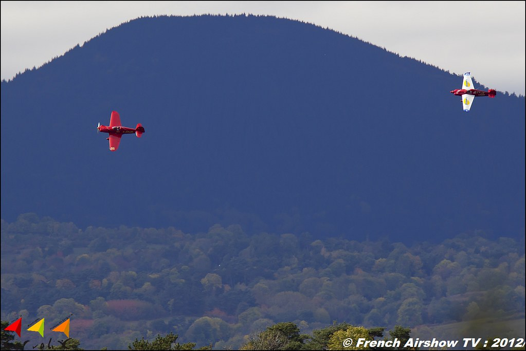 Cassutt IIIM Racer - F-PCMV & Max Plan MP 205 Busard F-PRJR Cervolix Plateau de Gergovie Auvergne Comment faire photos de Meeting Aerien 2012