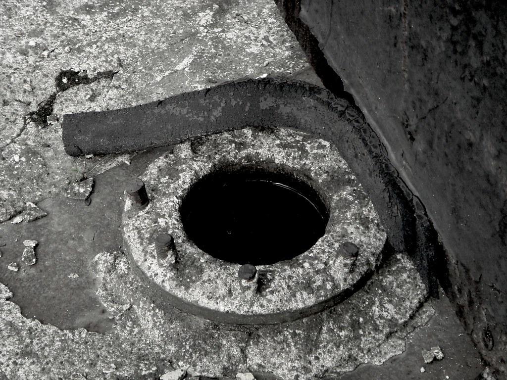 Loch rohr flansch zeche zweckel in gladbeck flansch im for Loch im boden 3d