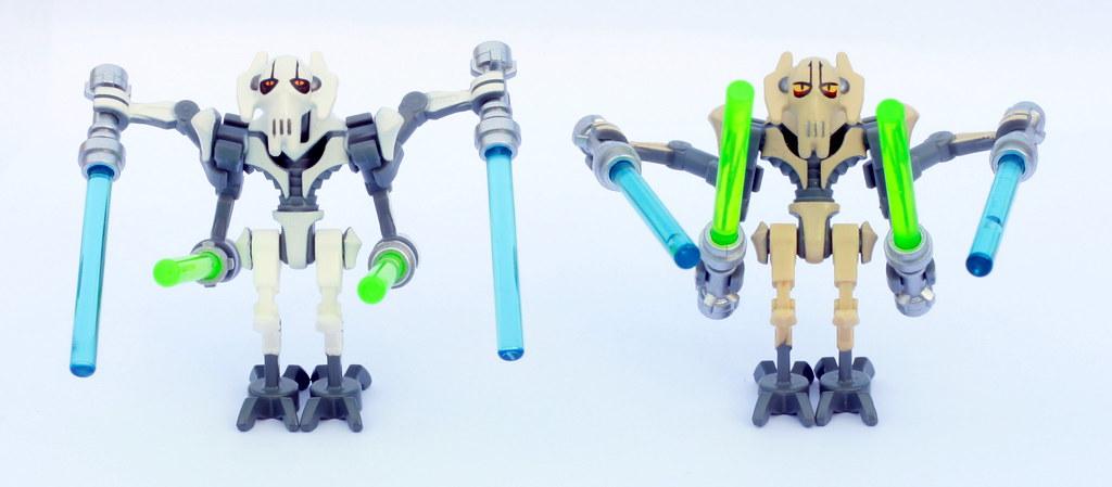 75040 General Grievous  Comparison  Lego Star Wars Minif  Flickr