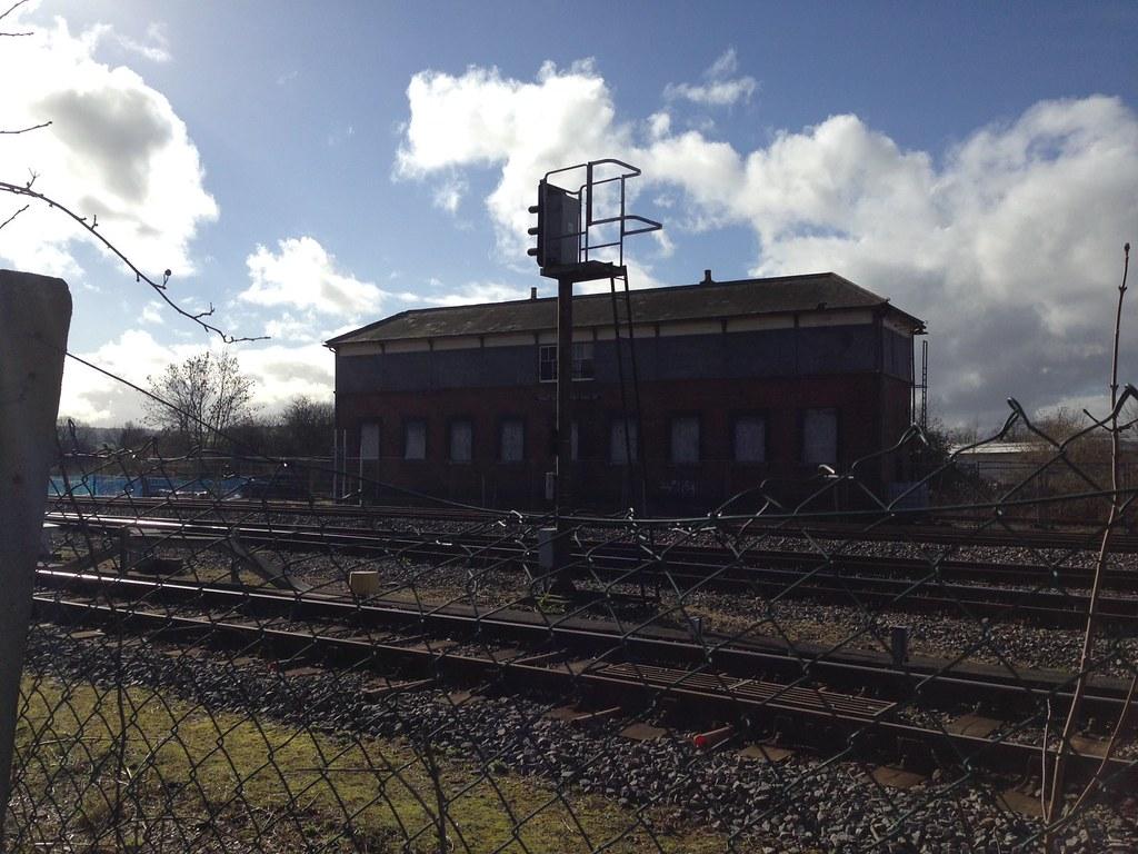 Abandoned North Signal Box Princes Risborough Abandoned