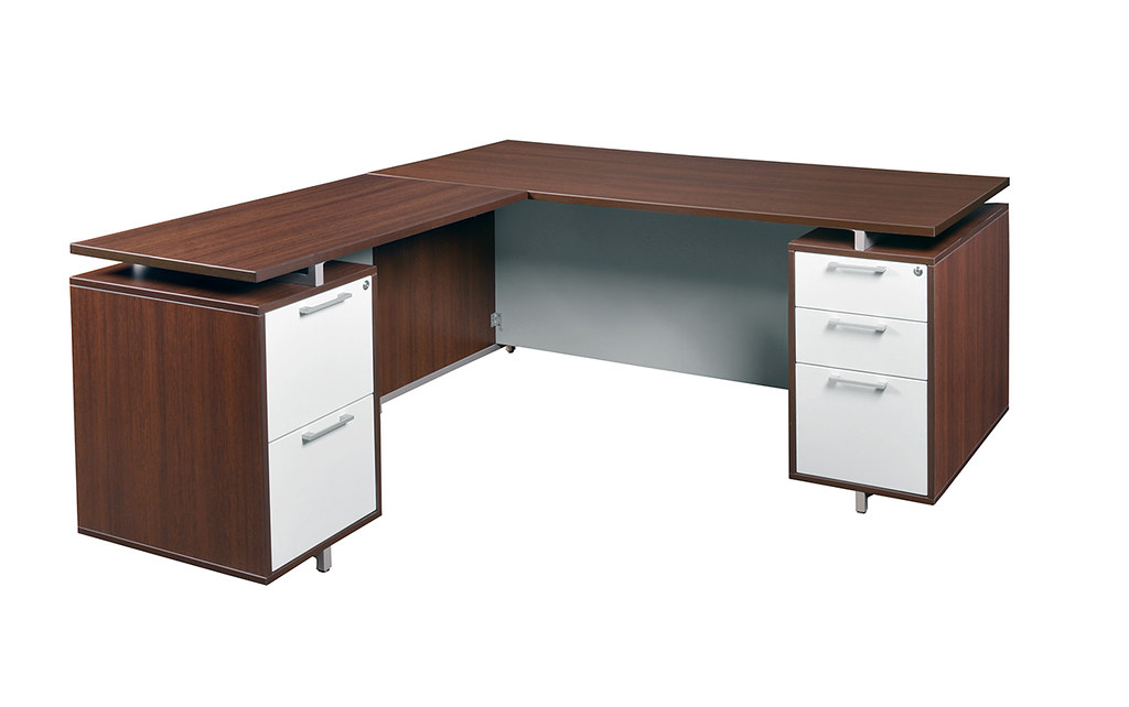 onlsdp7130jv 71 double pedestal l desk in java also