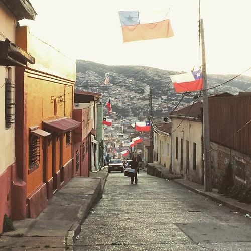 Primavera en Valparaíso #Chile
