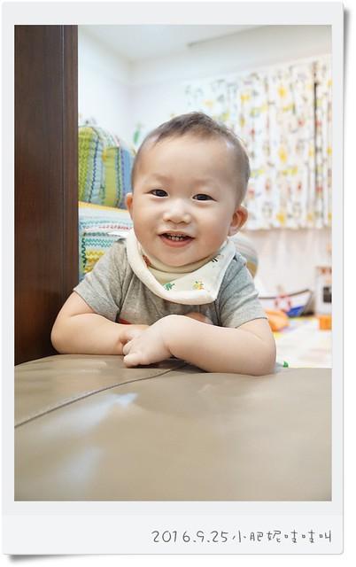 【小安比日記】開始會走路的1歲1個月