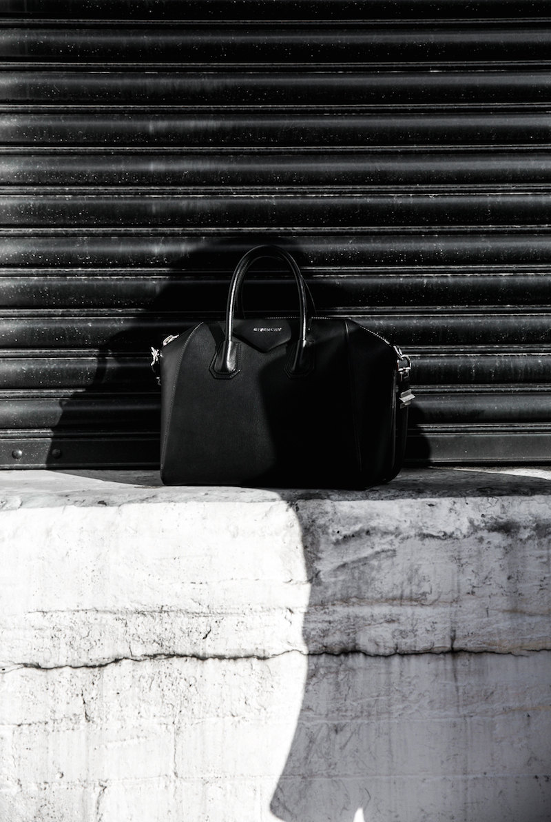 Givenchy one shoulder trend jumpsuit all black street style inspo fashion blogger Antigona minimal modern legacy yoox (13 of 13)