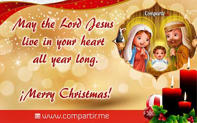 Imagenes de Navidad Con Frases en Ingles de Navidad en Inglés Con