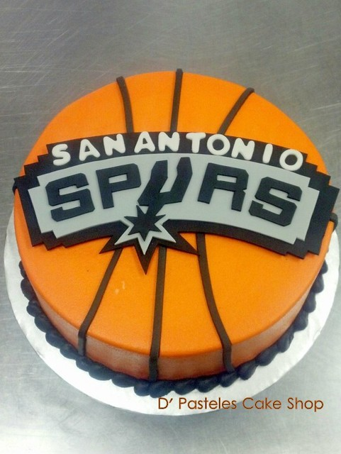 Birthday Cakes For Dogs San Antonio Tx ~ San antonio spurs cake ideas and designs