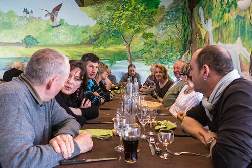 Le restaurant Les Artistes du Confluent