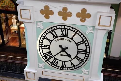 marionette clock Queen Victoria Building (QVB) 18