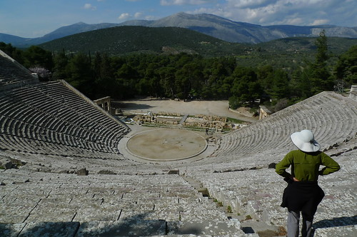 Ancient Theater - Epidavros, Greece