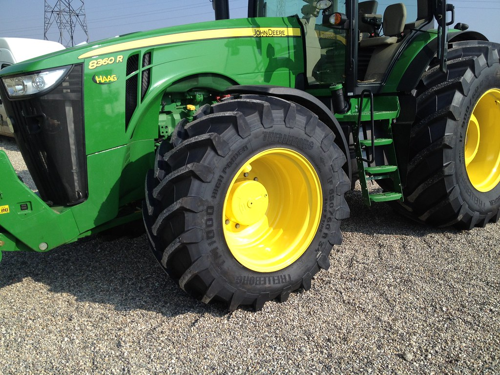 John Deere Tractor Tyre : Trelleborg tyre tm high power and john deere r tr