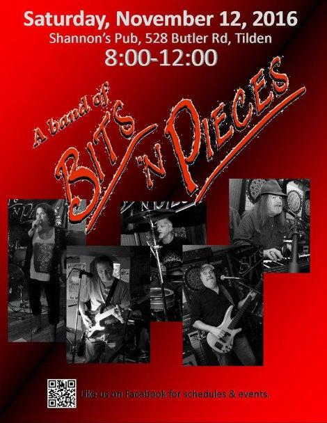 Bits n Pieces 11-12-16