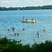 Swimming in Harriet Lake