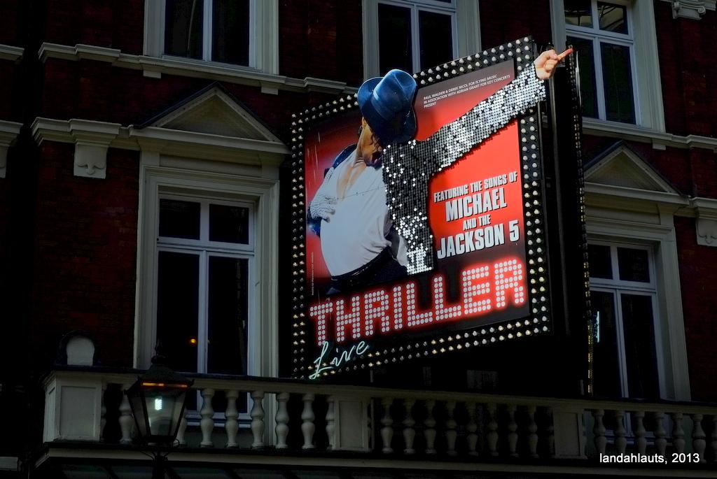 Thriller Live Uk Tour  February