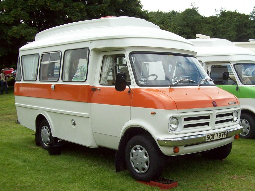 23 Bedford CF Camper Van (1976) | Bedford CF (1969-88) Engin… | Flickr