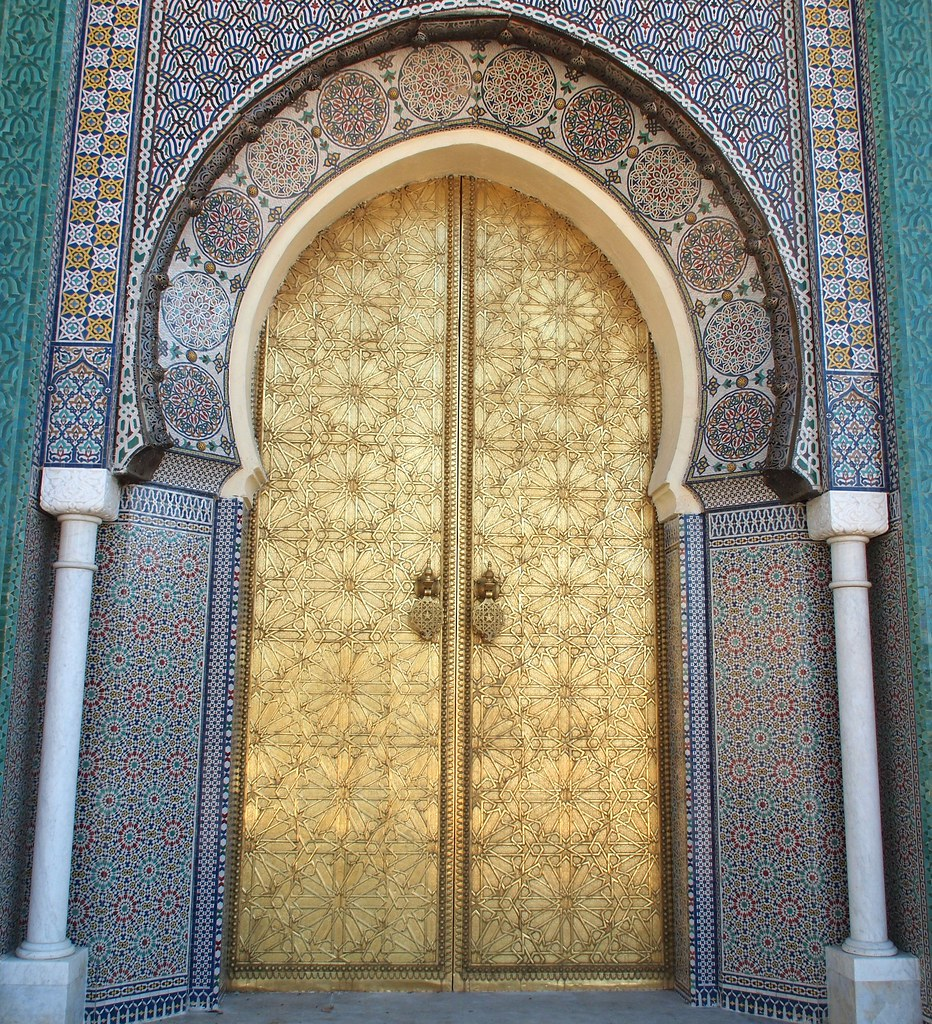 Royal Palace Gate, Fez, Morocco | goodhike | Flickr