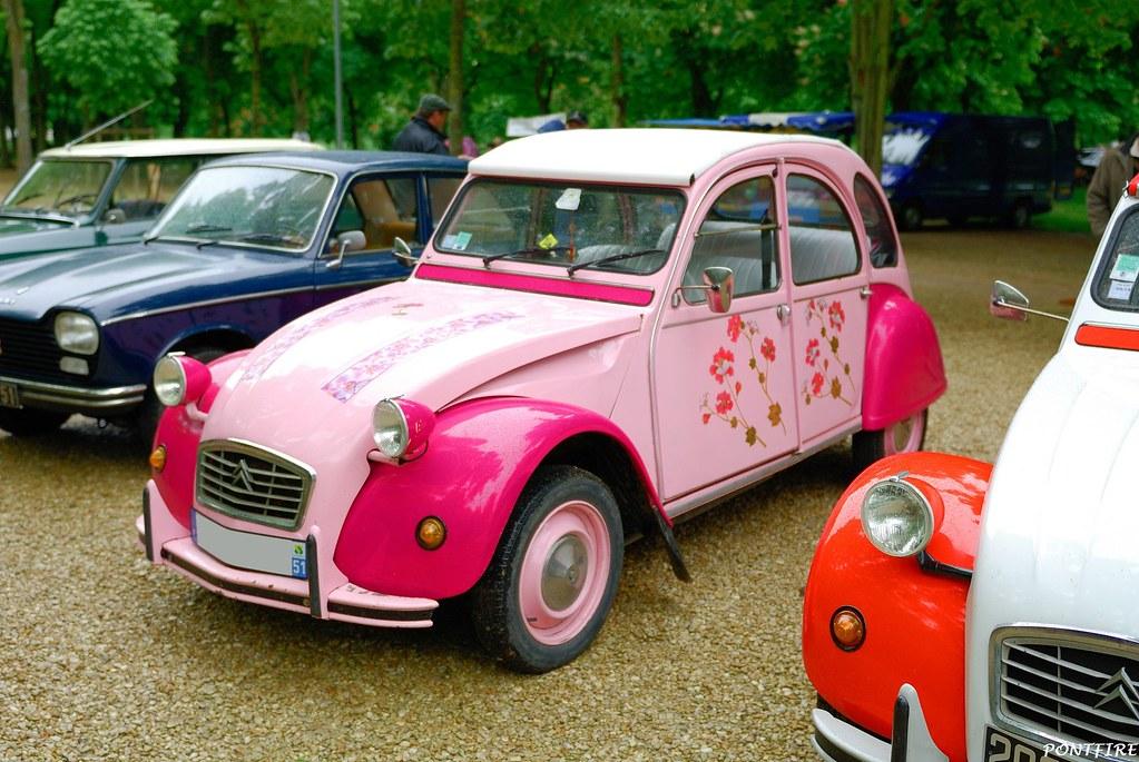 Citroën 2cv rose   eric   Flickr