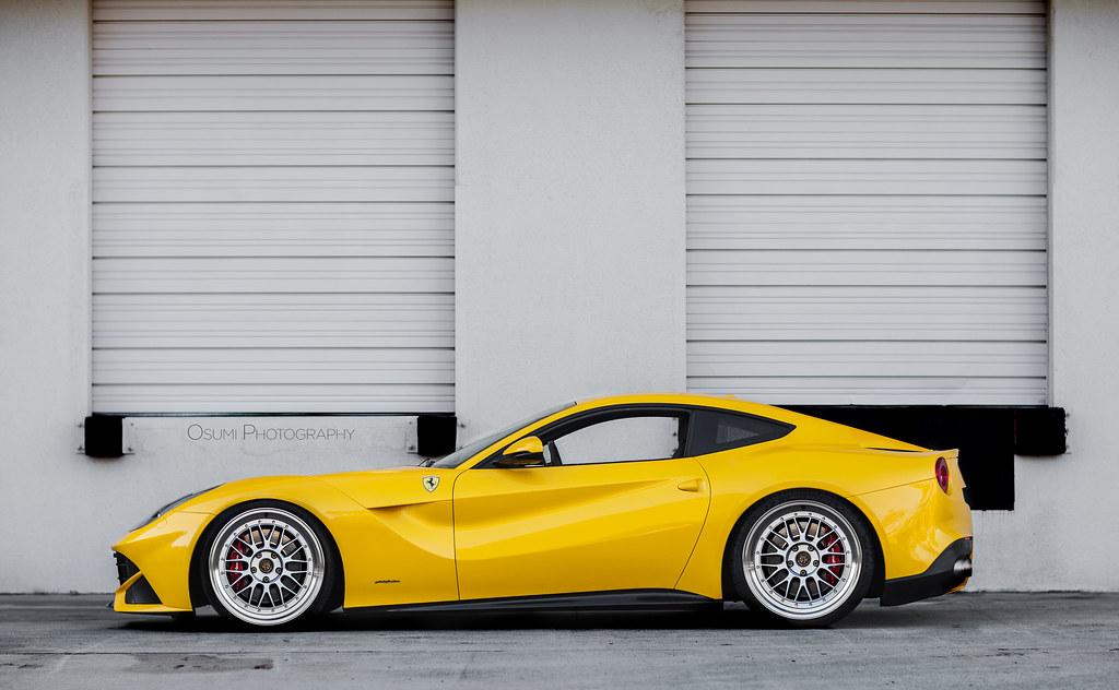Lowered Ferrari F12 Drew Osumi Flickr