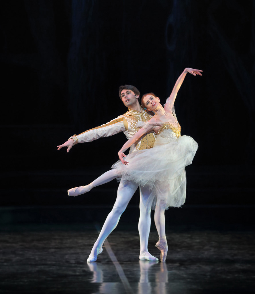 Maria Mosina And Alexei Tyukov In Cinderella