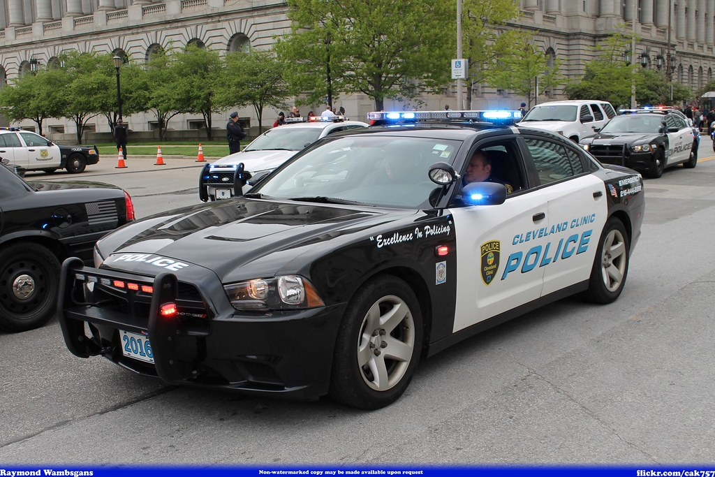 Cleveland Clinic Police Dodge Charger Raymond Wambsgans