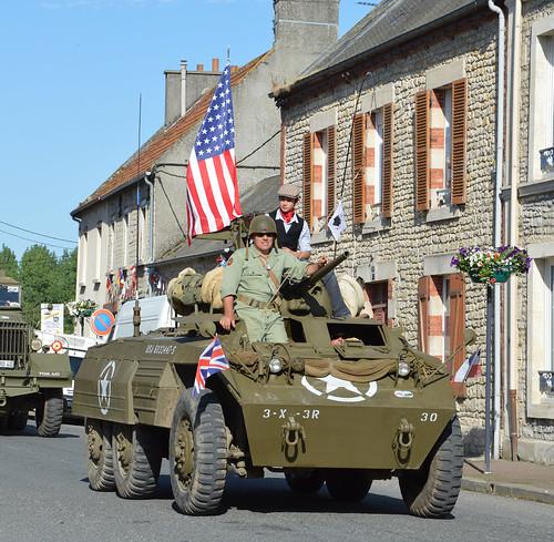 Tank, américain, défilé  du 70ème anniversaire du débarquement