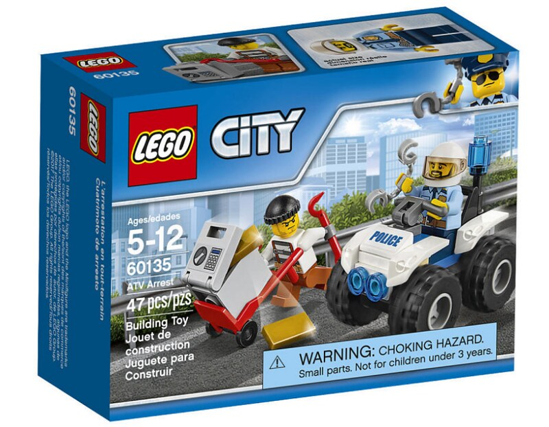 LEGO City ATV Arrest (60135)