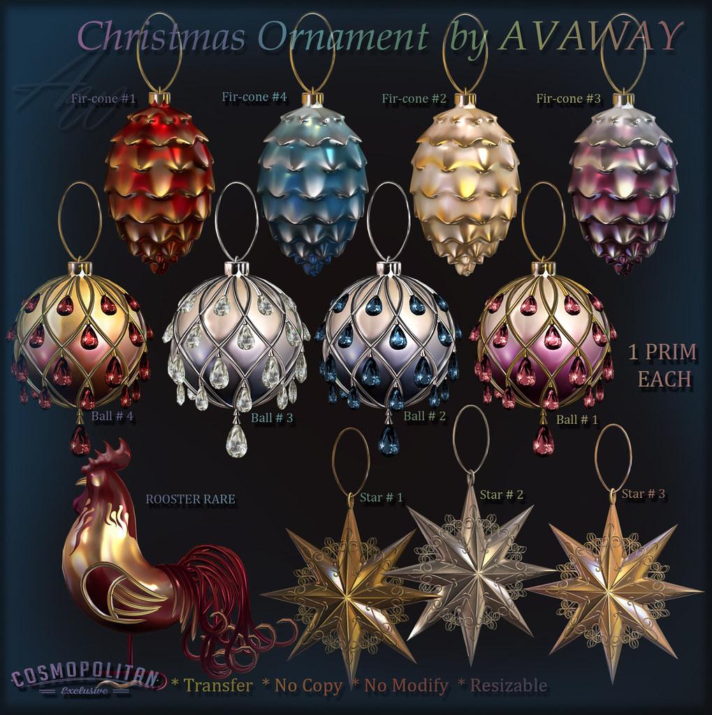 AvaWay_Christmas Ornament_GACHA