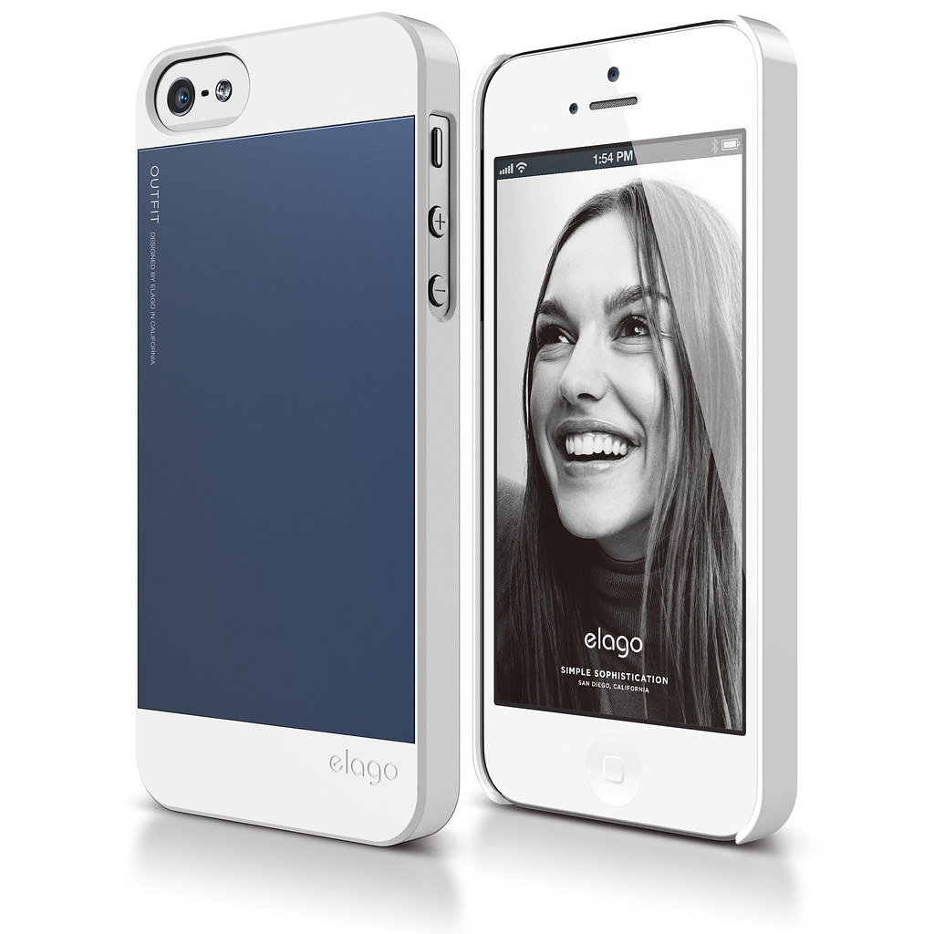 ... -WHJIN- : S5 Outfit Aluminum Case for iPhone 5 - Whiteu2026 : Flickr
