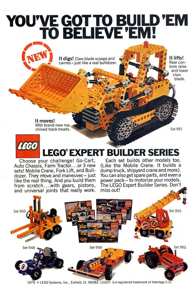 Lego expert builder ad 1979 back cover of hulk comic 243 for Lego ads tejasakulsin
