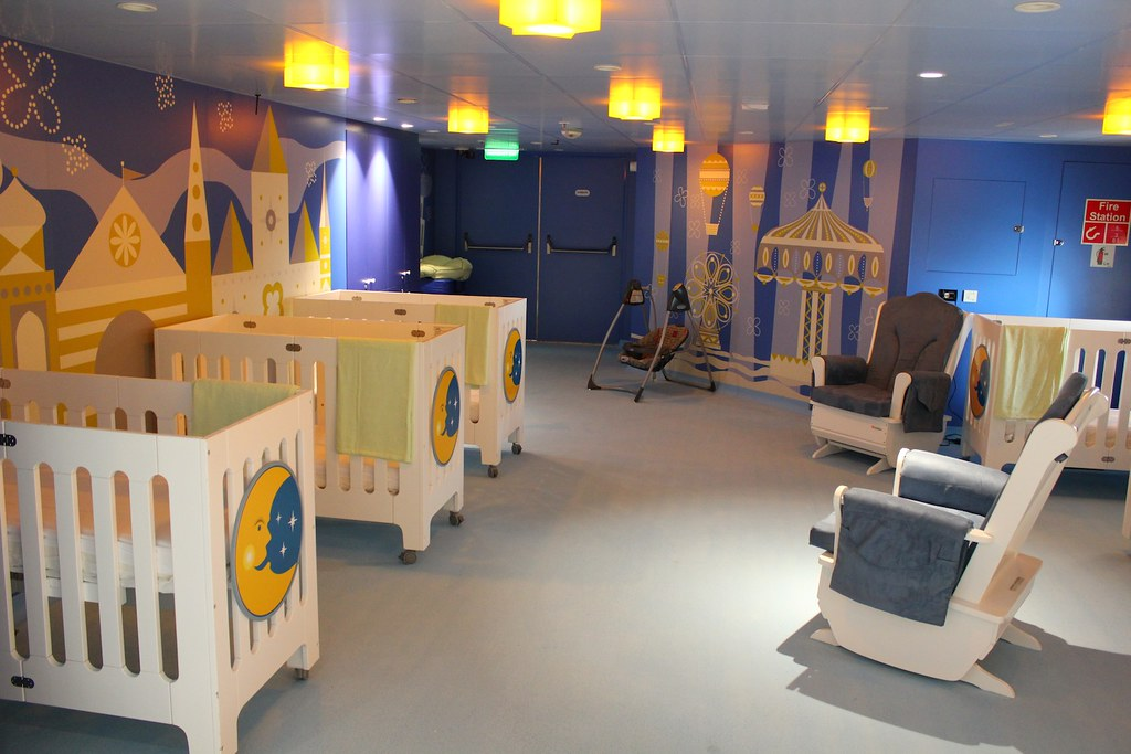 It S A Small World Nursery On The Disney Magic Inside