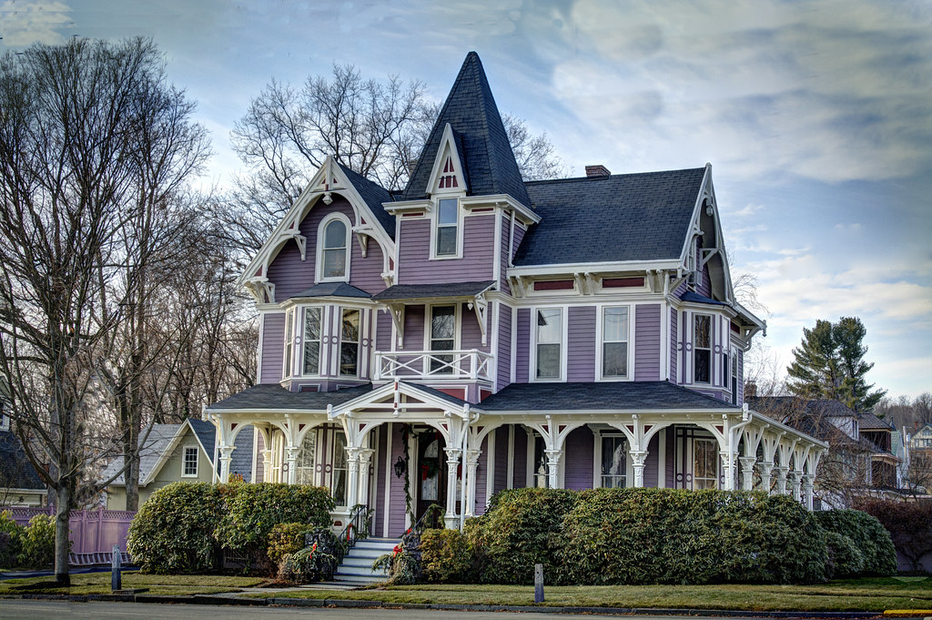 Purple Victorian I Spent Too Much Time Getting All The