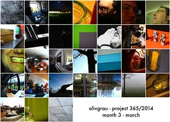 P365:2014 Mosaic Month 3 March by olivgrau