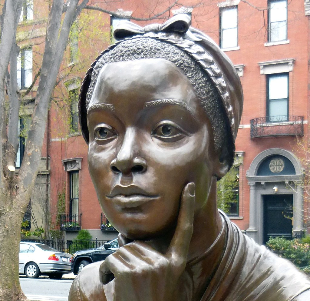 The Boston Women Memorial, Phillis Wheatley.