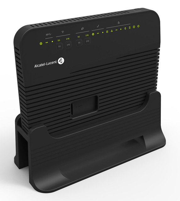 Alcatel Lucent Introduces Gfast Home Networking Device To