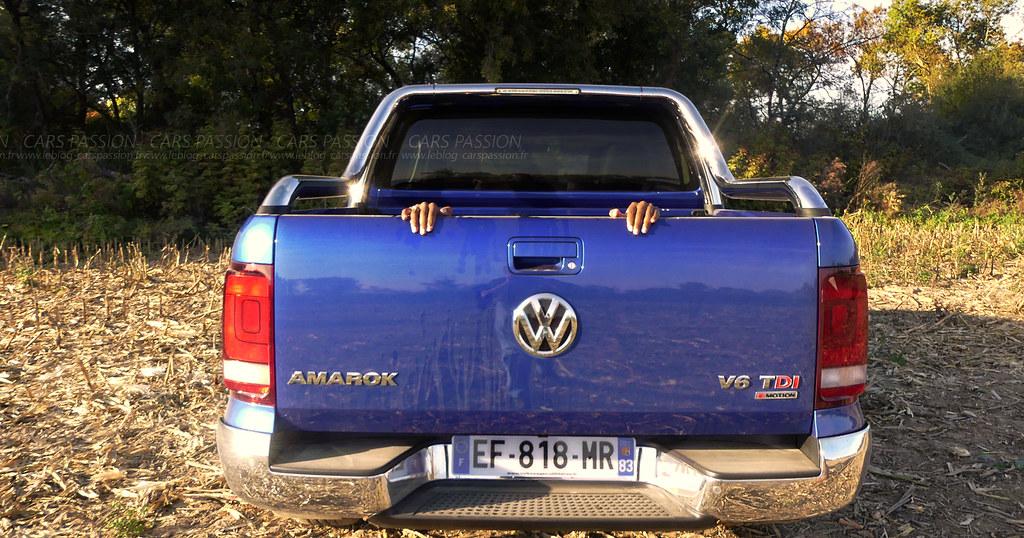 volkswagen amarok v6 tdi essai auto par st phanie pour le flickr. Black Bedroom Furniture Sets. Home Design Ideas