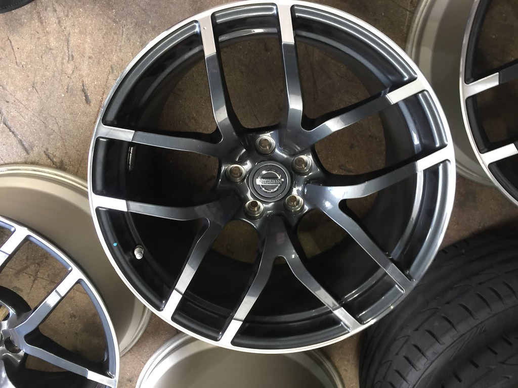 for sale 2015 2017 nismo rays forged wheels no tires. Black Bedroom Furniture Sets. Home Design Ideas