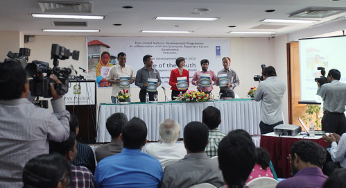 Launching of the 2013 Human Development Report | by undp.bangladesh