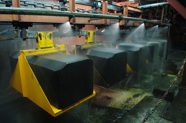 Anode Production - Hydro Aluminium Årdal