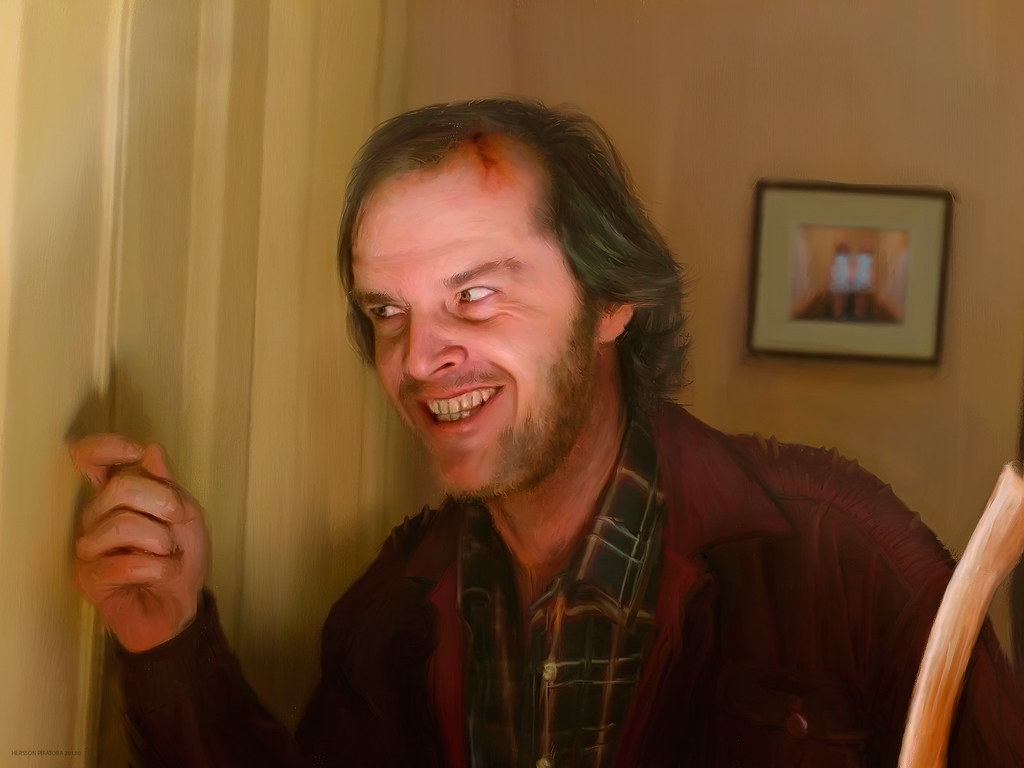 Image result for jack nicholson the shining pic